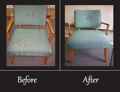 Sponge Rubber Upholstery Repairs Bethesda MD