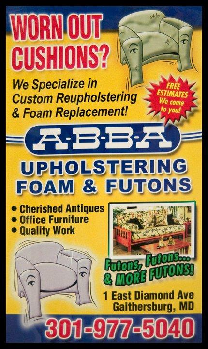 Custom Reupholstering & Foam Replacement Gaithersburg, MD